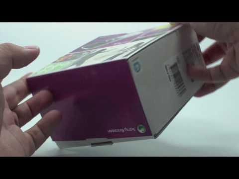 Sony Ericsson Yari unboxing