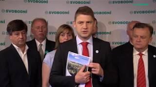 Svobodní představili volební program – nízké daně, bezpečnost...