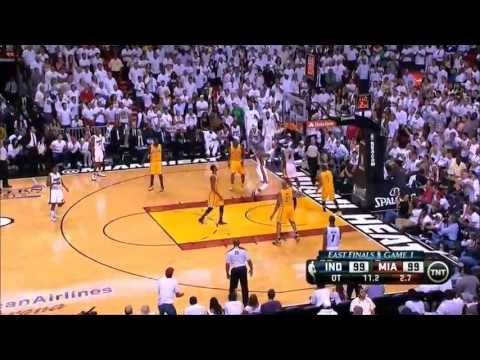 LeBron James vs Paul George - 2013 Eastern Conference Finals Game 1