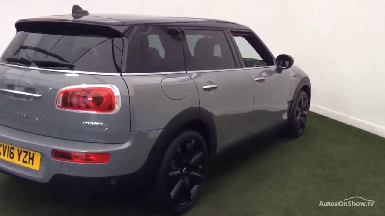 mini clubman cooper d grey 2016 youtube. Black Bedroom Furniture Sets. Home Design Ideas
