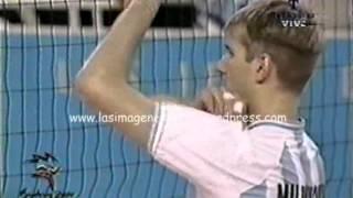 Voley: Argentina - Brasil (Juegos Olímpicos Sydney 2000)