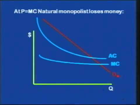 introduce to Economics   Lecture 10  Regulation of Natural Monopolies
