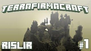 Minecraft TerraFirmaCraft - #1 - Костёр и лопата