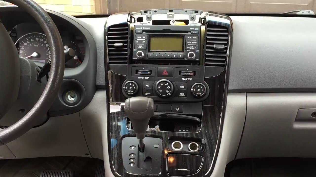 maxresdefault time lapse how to install an aftermarket radio in a kia sedona  at bakdesigns.co