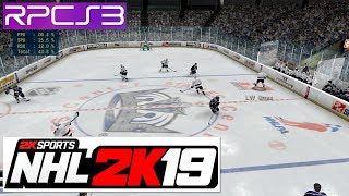 PS3 Emulator | NHL 2k8 w/ 2k19 Rosters on PC RPCS3 (2K Sports)