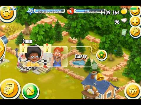 Hay Day Town - Diary Day 5 - Personal Train Goes Gold