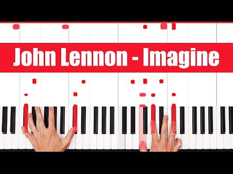 Imagine John Lennon Piano Tutorial - ORIGINAL - PART 1