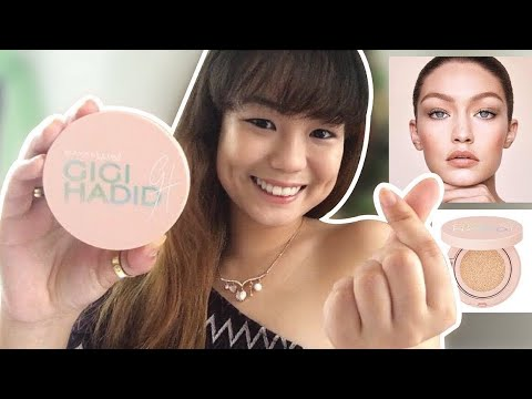 Gigi Hadid X Maybelline BB Cushion First Impression and Review! (Philippines) | Collette Cantada ♥️