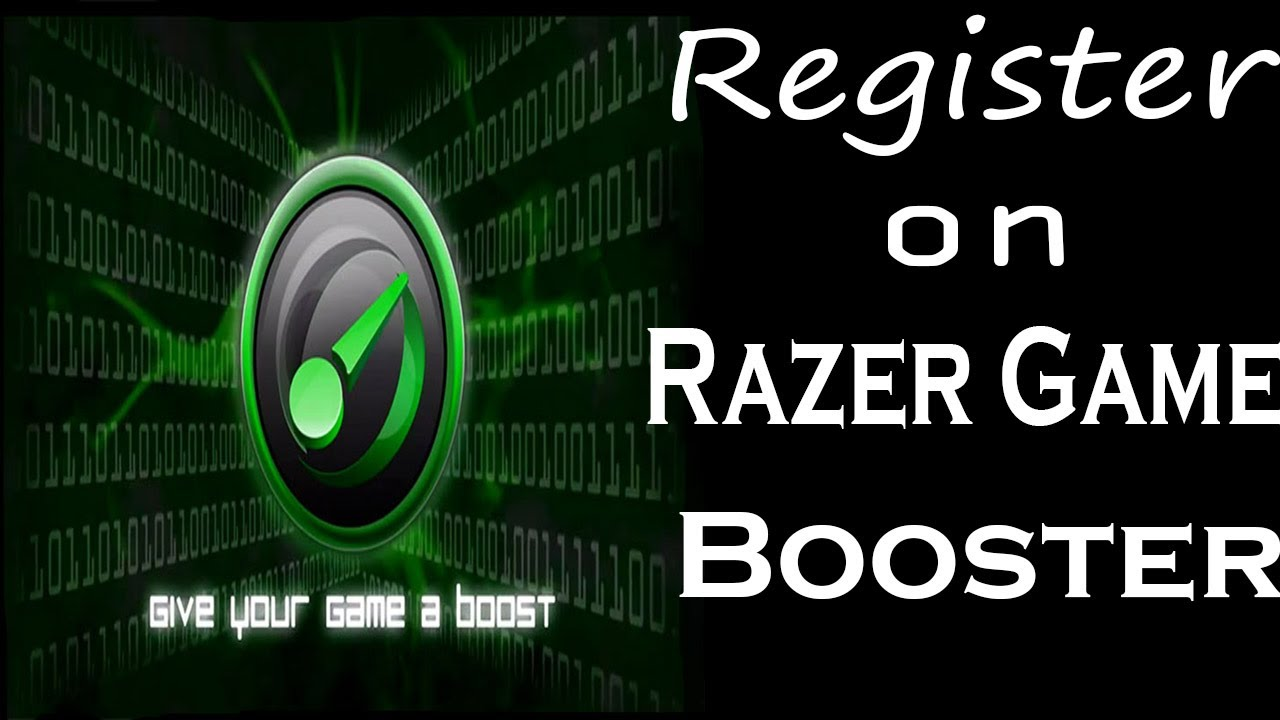 razer game booster sign up