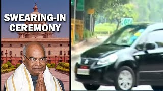 Ramnath Kovind reaches residence after paying tribute at Rajghat