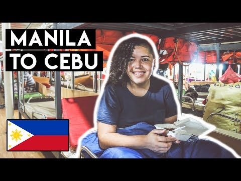 HOW TO GET from Manila to Cebu by Ferry - 2GO