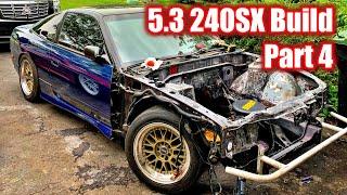 Shaving my 240SX Engine Bay | Budget 5.3 240sx Build Pt. 4