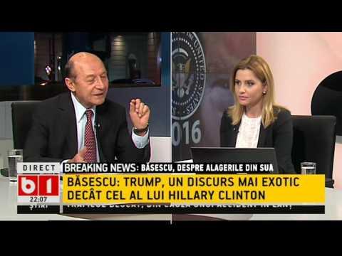Traian  Basescu, reactie la alegerea lui Trump  Ce se intampla in Romania