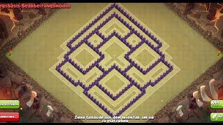 Clash of Clans RH 8 Trophy Base/CW Base [Points:8,9-10]