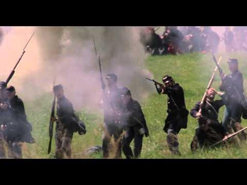 Glory (1989) - batalha de Antietam creek (17 de setembro de 1862) em Maryland USA