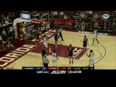 Virginia vs Florida State College Basketball Condensed Game 2018