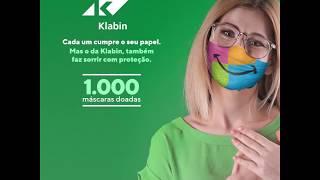 Contagiando Sorrisos - Cada um cumpre o seu papel. Mas o da Klabin, também faz sorrir com proteção.