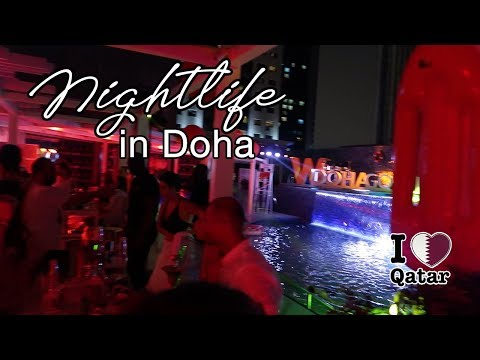 W Doha Hotel (Room Tour, Pool Party, Buffet) Summer In Qatar 2019 Staycation
