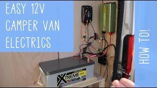 Super EASY 12V Camper Van ELECTRICS - How To