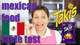 MEXICAN TAKIS FOOD TASTE TEST #4