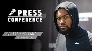 Gareon Conley on defending AB and progress in the secondary | Raiders