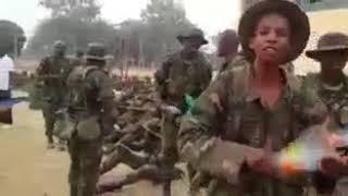 best Nigerian Army morale songs
