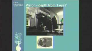 "Where 09:  John Zelek, ""Wearable Sensory Substitution Device"