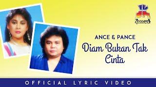 Ance & Pance - Diam Bukan Tak Cinta (Official Lyric video)