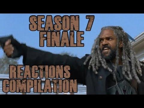 Walking Dead | Season 7 Finale - Reactions Compilation