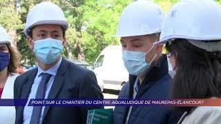 Yvelines | Maurepas : le futur centre aqualudique prend forme