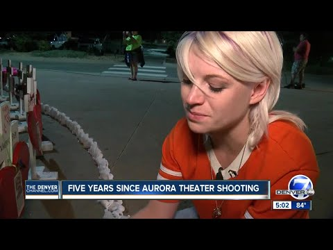 'We are stronger': Aurora honors victims of theater shooting 5 years later
