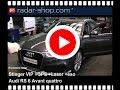 Rivelatore radar Stinger en Audi RS6 Avant per Italia e Svizzera