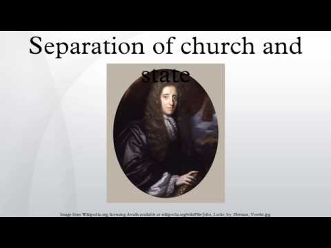 separation of church and state bibliography Research papers on separation of church and state looking at biblical perspective.