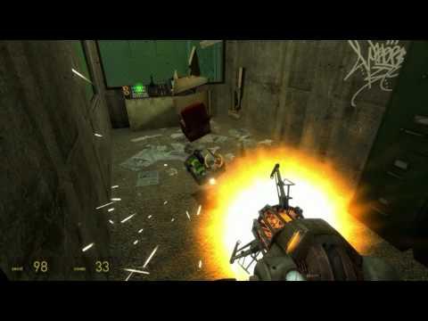 Half-life 2 - Magenallic Stream (Miigga's map) - Walkthrough