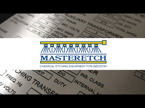 Masteretch | Chemical Etching Equipment | Photochemical Milling Equipment | Custom Etching Machines