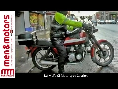 Daily Life Of Motorcycle Couriers