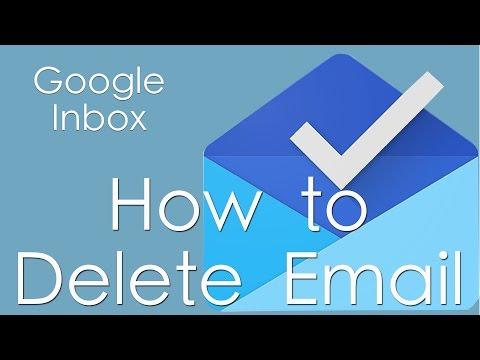 Google Inbox: Deleting Mail