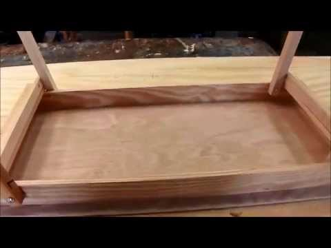 how to make fold up table legs 2
