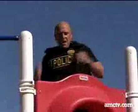 Dean Norris trains for DEA role in Breaking Bad