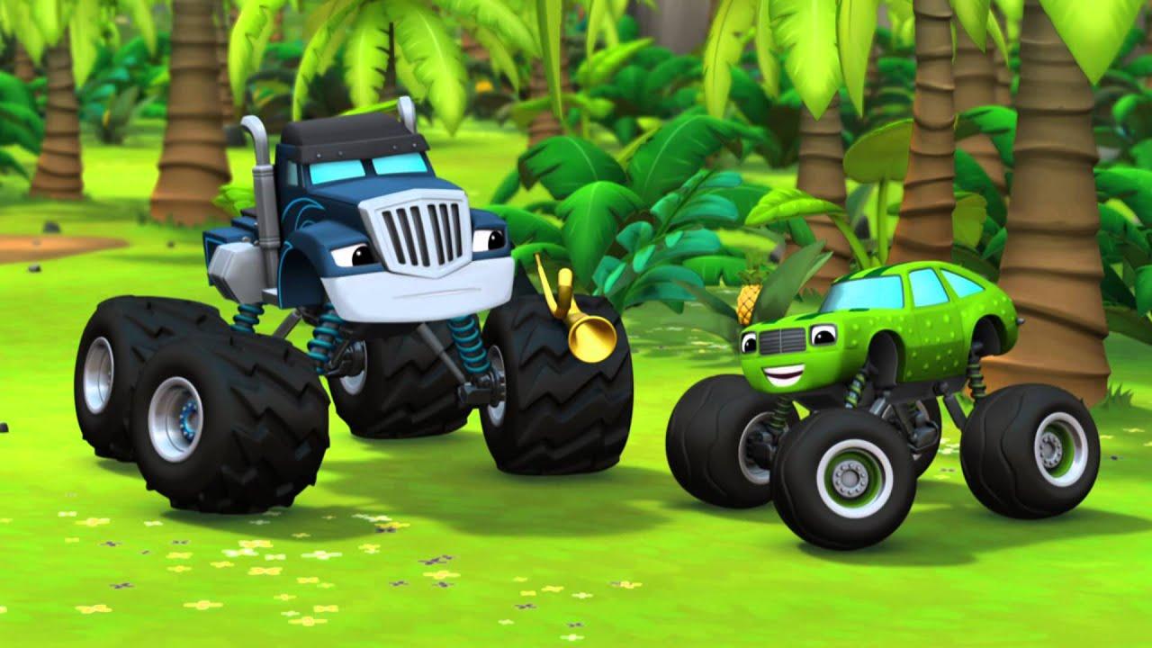 The jungle horn youtube for Blaze e le mega macchine youtube
