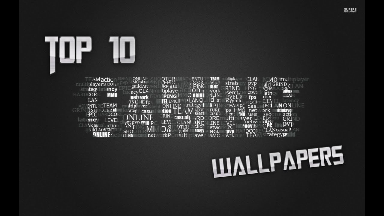 top 10 gaming wallpapers! - youtube