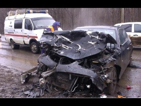 Аварии зимой , ДТП на дороге