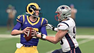 Madden 20 - Super Bowl LIII Rematch New England Patriots vs Los Angeles Rams Madden NFL 20
