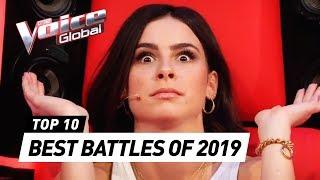 TOP 10   BEST BATTLES OF 2019   The Voice Kids Rewind