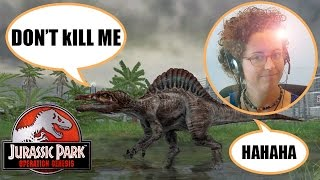 Jurassic Park Operation Genesis for PC Gameplay: Killing dinosaurs + park safari!!! - RockyBytes.com