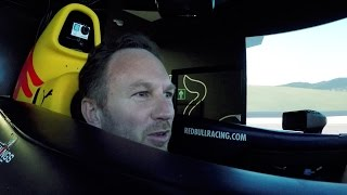 The Red Bull Racing Simulator Challenge: Christian Horner