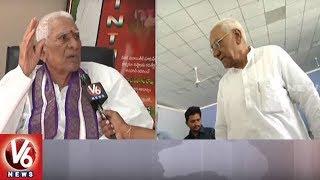 Former Minister Juvvadi Ratnakar Rao Face To Face Interview | Juvvadi 89th Birthday | V6 News