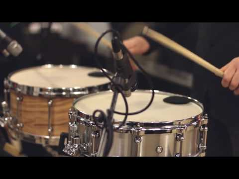 Steve Reich - Clapping Music -  solo snare drums version