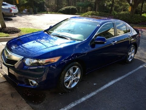 2012 Acura TSX Sedan Update, Walkaround, and Extended Test Drive