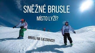 Sled Dogs - Sněžné brusle - Nový sport z Norska